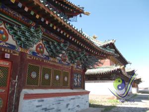World heritage Erdenezuu monastery