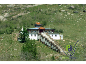 Exciting meditation temple