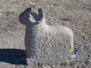 Ancient sheep monument