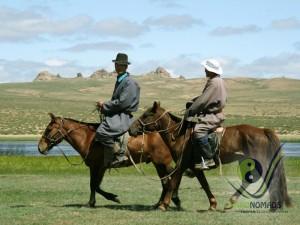 Local horse riders