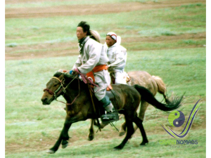 Naadam - Horse race winner