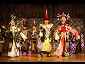Mongolian traditional performance
