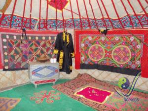 Kazakh embroideries