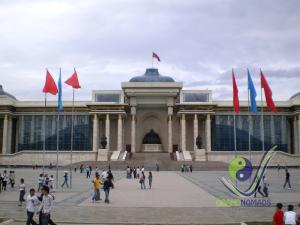 Sukhbaatar square (Genghis square)