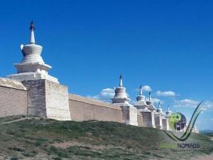 Stupas in Karakorum