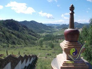 View from Aryabal meditation temple