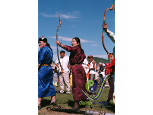 Naadam - Archery competition
