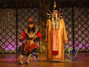 Mongolian folklore performance