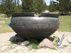 A massive pot in Manzushir