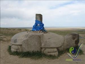 Turtle Monument in Karakorum since 13th century