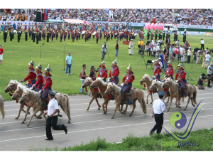 Opening ceremony of Naadam festival