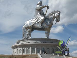 Genghis Khaan's Statue