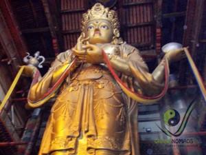 Enormous Buddha in Gandan Monastery