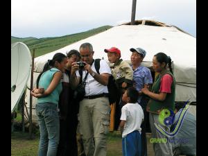 Visit hospitable nomadic family