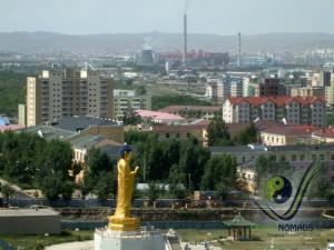 Huge Buddha in Ulaanbaatar