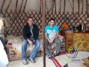 Experience nomadic way of life ad taste traditional food