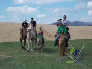 Horse riding fun