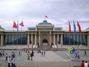 Central square - Sukhbaatar square
