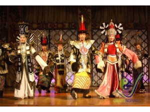 Mongolian folklore performance