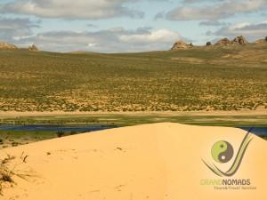 Elsen Tasarkhai Sand Dunes