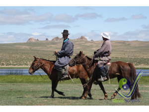 Mongolian horseriders