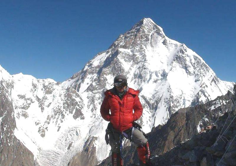 Mongolian Seven Summiteer B. Gangaamaa climbed the K2 successfully