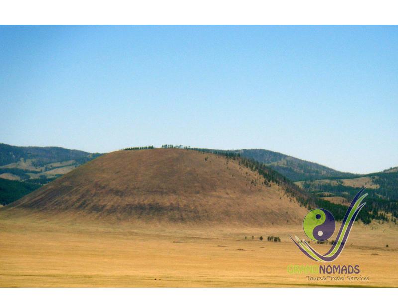 Uran Togoo Extinct Volcano