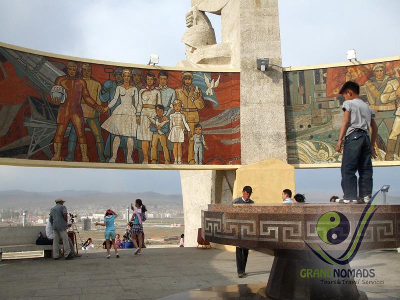 Zaisan Hill War Memorial and Buddha Park