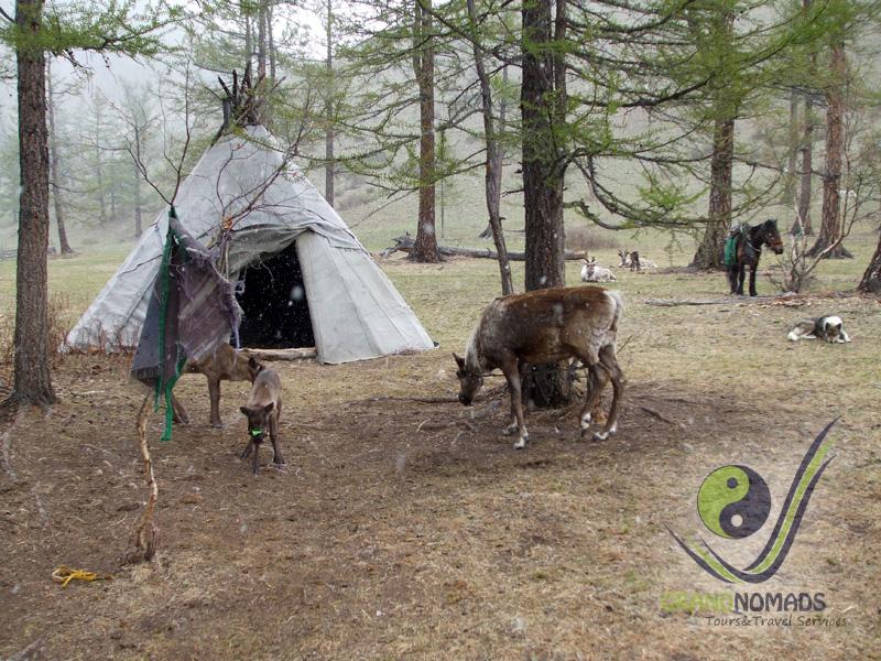 Khuvsgul Lake National Park.