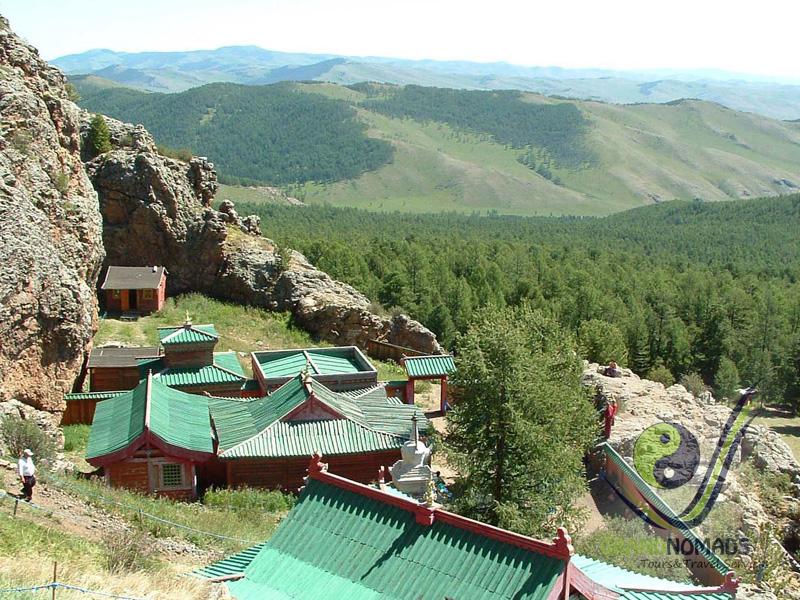 """""""Tuvkhun"""" Monastery – Ulaan Tsutgalan Area."""