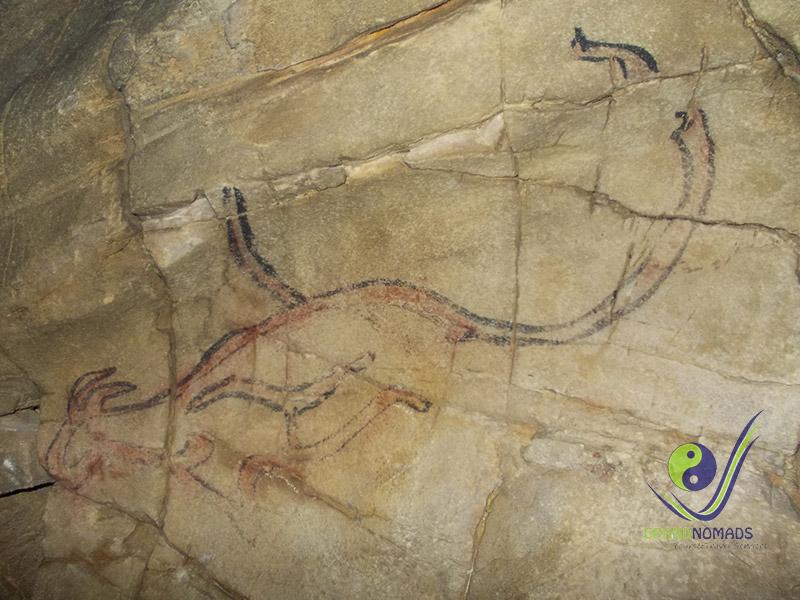 """Historical """"Gurvan Tsenkher"""" Cave."""