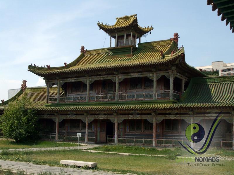 Bogd Khaan Palace Museum.