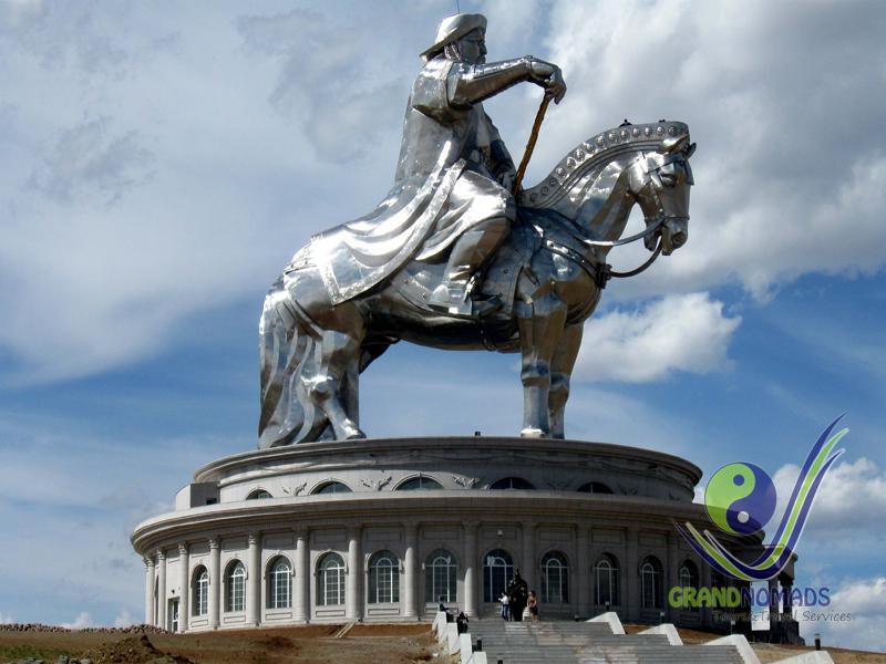 Ulaanbaatar – Genghis Statue - Terelj National Park - Ulaanbaatar. 200 km
