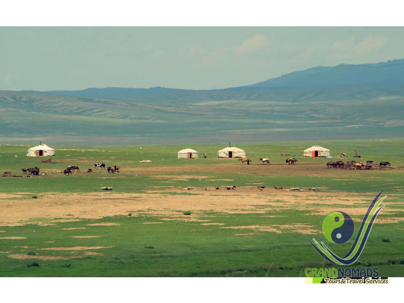 Khorgo Terkh National Park - Jargalant Hot Spa.