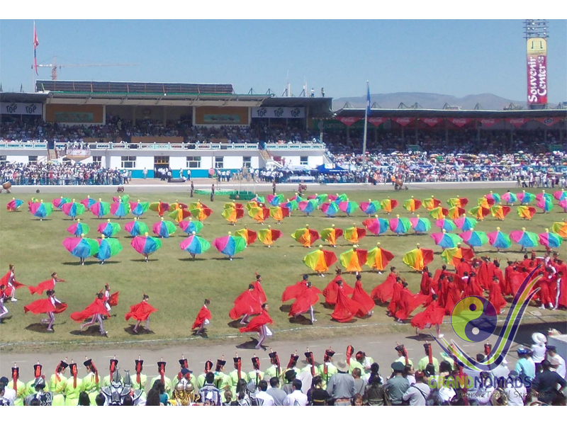 July 11. Naadam Festival Opening Day.