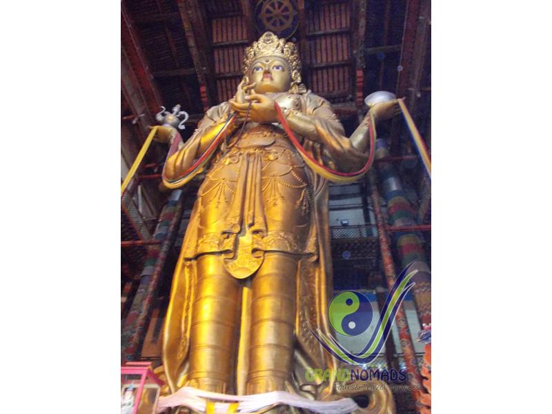 Gandan Buddhist Monastery.